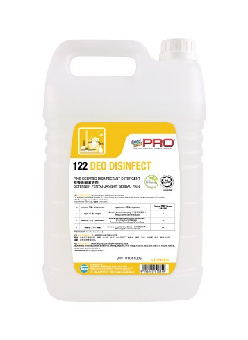 GMP 122 Deo Disinfect