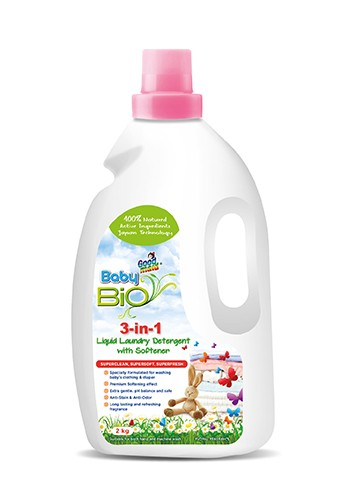 Baby Bio 3-in-1 Laundry Detergent with Softener