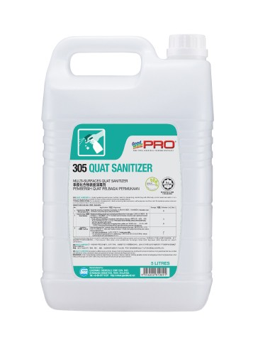 GMP 305 Quat Sanitizer